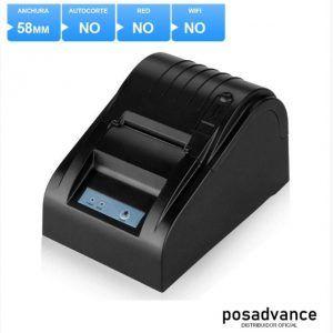 Impresora térmica de tiquets