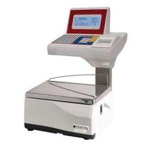 impresora térmica incorporada en la parte superior de la balanza junto al teclado que permite el rápido acceso a los tiquets