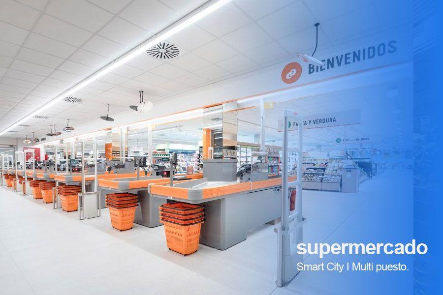 tpv para supermercado multi puesto