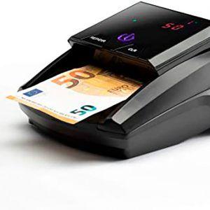 Detector de billetes falsos barato.
